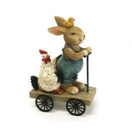Dekorace Rabbit and Rooster