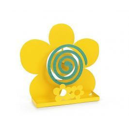 Stojan na spirálu proti komárům Three Flowers Yellow