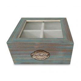 Krabice s víkem na čaj Cadal Green