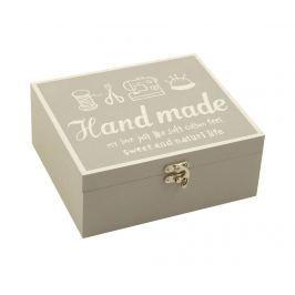 Krabice na šicí potřeby Handmade