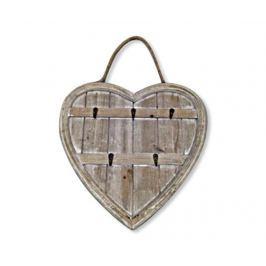 Věšák na klíče Heart