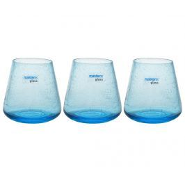 Sada 3 sklenic Venere Blue 400 ml
