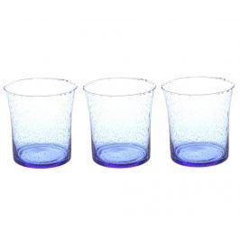 Sada 3 sklenic Lucia Blue 350 ml