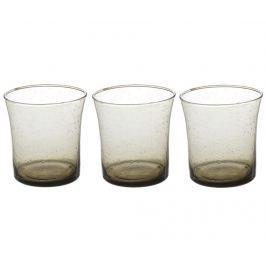 Sada 3 sklenic Lucia Grey 350 ml