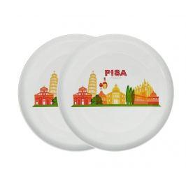 Sada 2 podnosů na pizzu Pisa