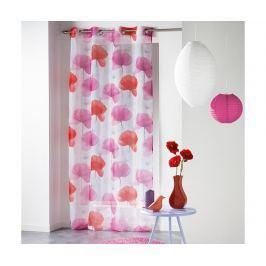 Záclona Natae Rouge 140x240 cm