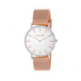 Dámské hodinky Clueless Grace White Rose Gold and Silver