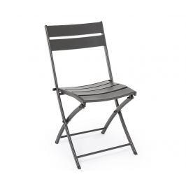 Venkovní skládací židle Mistral Charcoal