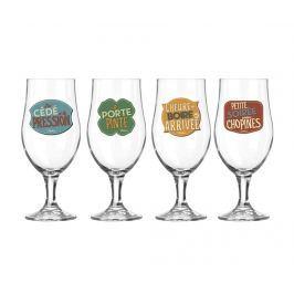 Sada 4 sklenic na pivo L'heure De Boire 270 ml