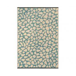 Plastový koberec Pebbles Green 150x240 cm