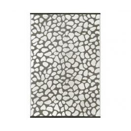 Plastový koberec Pebbles Grey 150x240 cm