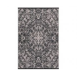 Plastový koberec Rio Black 120x180 cm