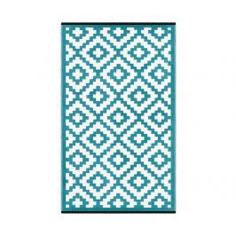 Plastový koberec Nirvana Teal Blue 90x150 cm