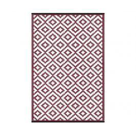 Plastový koberec Nirvana Port Wine 120x180 cm