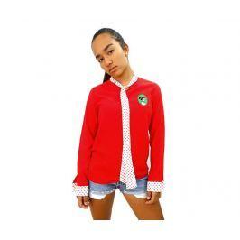 Dámské triko s dlouhým rukávem Malaguena Red S