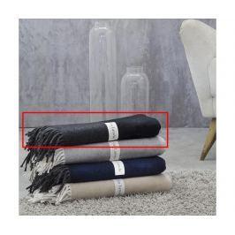 Pléd Croisette Black 130x170 cm