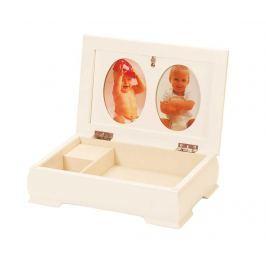 Hudební krabice na šperky Baby Memories