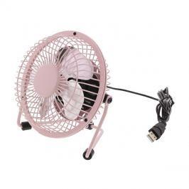 Ventilátor USB růžový HQ FN04PI