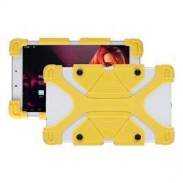 PC kryt na tablet YBT 0725YW silikonový 7/8 YENKEE - ŽLUTÝ