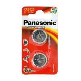 Baterie    CR2025 PANASONIC lithiová 2BP