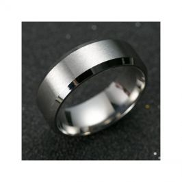 Prsten MANLIKE stříbrná barva 69mm, pánský