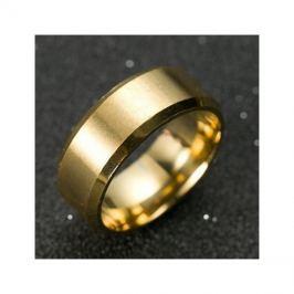 Prsten MANLIKE zlatá barva 69mm, pánský
