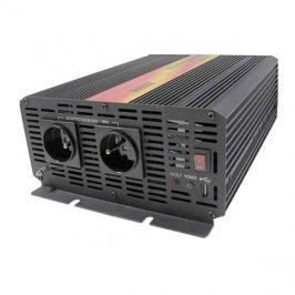Měnič napětí 24V/230V 2000W CZ CARSPA