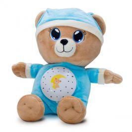 Medvídek plyšový TEDDIES USÍNÁČEK modrý