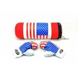 Pytel boxovací TEDDIES USA dětský + rukavice