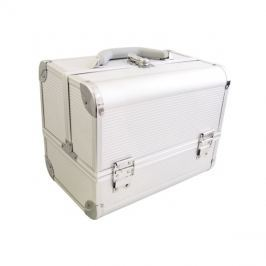 Kufřík kosmetický PROTEC hliník stříbrný