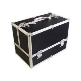 Kufřík kosmetický PROTEC hliník černý matný