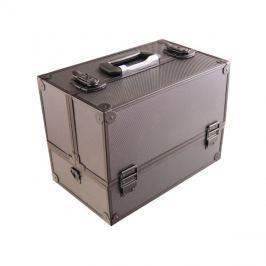 Kufřík kosmetický PROTEC hliník černý lesklý