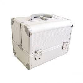 Kufřík kosmetický PROTEC hliník stříbrný malý