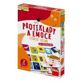Hra vzdělávací DINO PROTIKLADY A EMOCE dětská