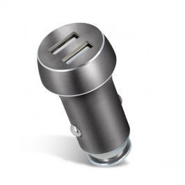 Nabíječka do auta 2x USB 3100 mAh FOREVER šedá
