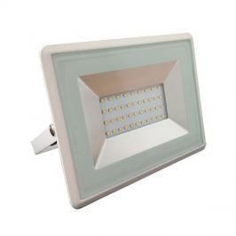 LED venkovní reflektor SLIM, 30W, 2500lm, 4000K, AC 230V, bílá