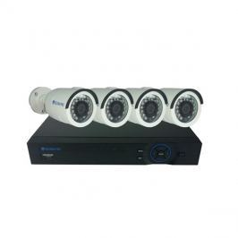 Kamera set SECURIA PRO AHD4CHV1-W 720P 4CH DVR + 4x IR CAM analog
