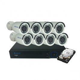 Kamera set SECURIA PRO AHD8CHV1/1TB-W 720P 8CH DVR + 8x IR CAM + 1TB HDD analog