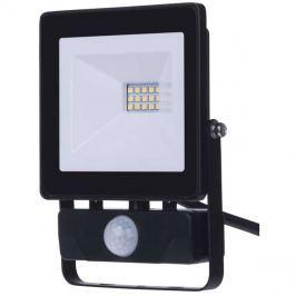 LED venkovní reflektor HOBBY SLIM s pohyb. čidlem, 10W neutrální bílá