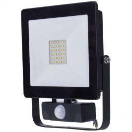 LED venkovní reflektor HOBBY SLIM s pohyb. čidlem, 30W neutrální bílá