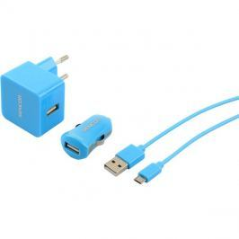 Nabíječka SCO 516-000BK USB KIT 1M/WALL/CAR SENCOR
