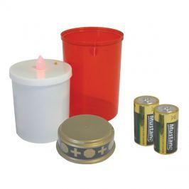 LED hřbitovní svíčka + baterie ZDARMA