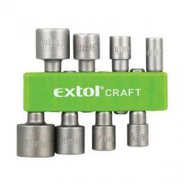 Sada nástrčných klíčů do vrtačky 8 kusů - EXTOL CRAFT