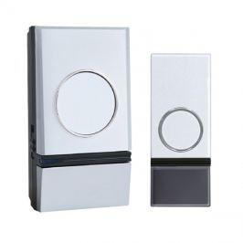 Zvonek domovní bezdrátový SOLIGHT 1L28  32melodií, learning code 1L28 bílý