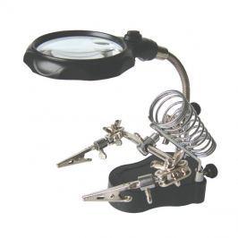 Třetí ruka s lupou - 2x LED