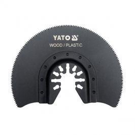 Segmentový pilový list pro multifunkční nářadí HCS, 88mm (dřevo, plast) YT-34681