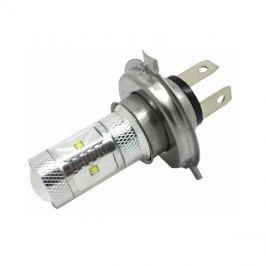 CREE LED 12-24V s paticí H4, 30W (6x5W) bílá