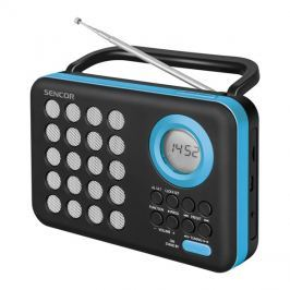 Rádio SENCOR SRD 220 BBU s USB/MP3