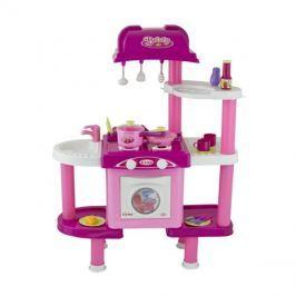 Kuchyňka dětská G21 s příslušenstvím růžová II