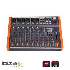 Mixážní pult IBIZA MX801 osmikanálový